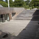 Amfiteatr SDK - widok od strony parku SDK